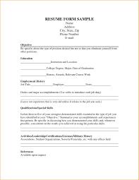 resume for job application pdf download resume form resume job