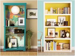 furniture interior simple ideas in decorating bookshelf designs