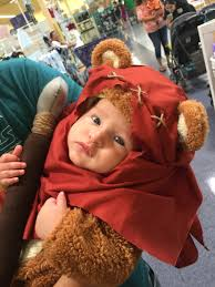 baby ewok halloween costume star wars diy halloween costumes diy