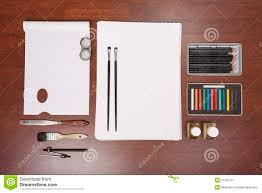 painting art supplies stock photo image 51397757
