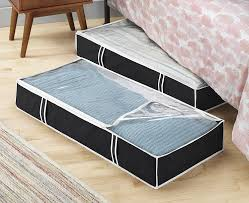 closet under bed amazon com zober flexible zippered underbed storage bag pack of