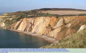 cost of alum geology of alum bay isle of wight by ian west