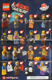 the minifigure collector lego movie sets and minifigures