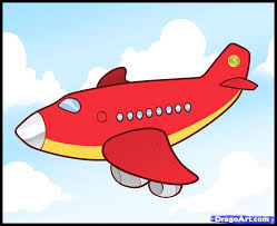 airplane drawing for kids draw a plane real easy youtube