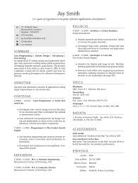 How Make Resume How To Do A One Page Resume Resume For Your Job Application