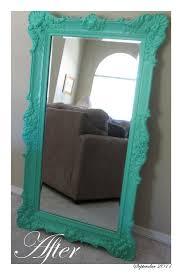 Bathroom Mirror Frames by Best 25 Refurbished Mirror Ideas On Pinterest Painting Frames