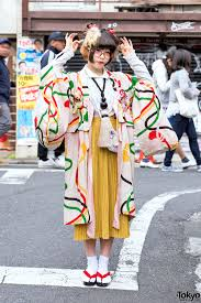 Japanese Designer by Kimono Doll Heads U0026 Giant Tassel Necklace In Harajuku