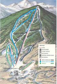 Colorado Ski Map by Colorado Ski Maps