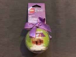 lego friends 850849 doghouse bauble ornament
