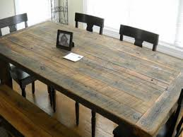 how to build your own dining table diy farmhouse style rustic