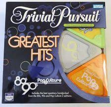 trivial pursuit 80s trivial pursuit greatest hits 80 s 90 s pop culture trivia
