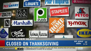 many retailers deciding to stay closed on thanksgiving