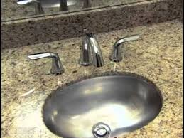 delta uninstalling bathroom faucet with pop up youtube