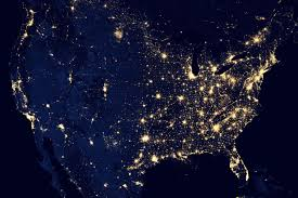 artificial light pollution around the world is leading to a loss