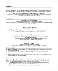 sample resume format for experienced candidates sample format for