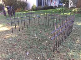 wrought iron fence the craft crib