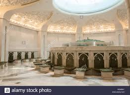 ablution area inside the sheikh zayed grand mosque in abu dhabi