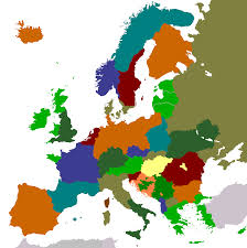 Unification Of Germany Map by Another Europe An Alternate History Map