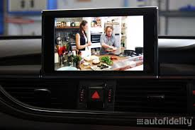 audi a6 tv integrated tv tuner retrofit to audi mmi system for audi a6 4g