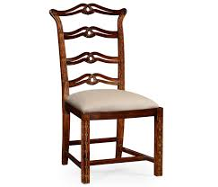 Chippendale Dining Room Chairs Style Mahogany Pierced Back Dining Side Chair