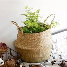 Nursery Plant Supplies by 3 Sizes Willow Flower Basket Plant Pot Laundry Storage Holder