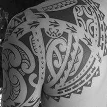 polynesian tribal tattoos uniquely designed and customized