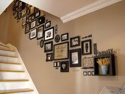 Ideas For Staircase Walls Stairway Decorating Ideas 23