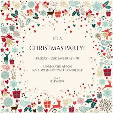 25 unique christmas party invitation template ideas on pinterest