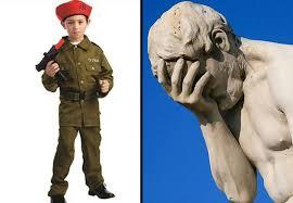 Walmart Childrens Halloween Costumes Sheep Cyclone Walmart Selling Children U0027s U0027israeli Soldier