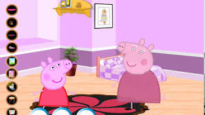 peppa pig games peppa pig room decor games for kids youtube