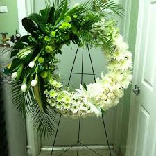 flower for funeral lavender sympathy wreath funeral funeral flowers and wreaths