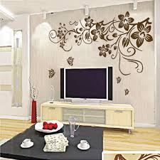 compare prices on decor vinyl butterflies online shopping buy low diy vine flower butterfly removable vinyl wall decals sticker home decor art lxl china