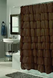 Brown Waffle Weave Shower Curtain by Shower Curtains Cape May Linen