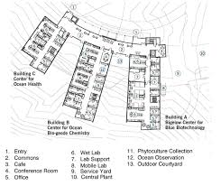 Laboratory Floor Plan Ocean Science And Education Campus Tradeline Inc
