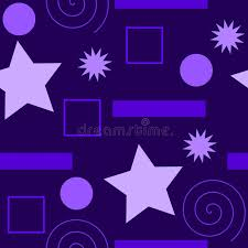 different types of purple a seamless pattern of different types of shapes all in purple in