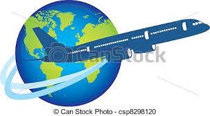 aereo clipart pianeta sopra aereo sopra isolato aereo pianeta