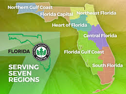 Map Of Florida Gulf Side by Usgbc Florida Find Your Region
