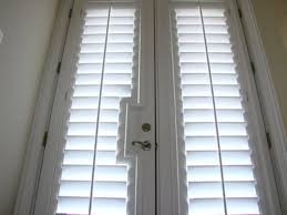 best plantation shutters for french doors u2014 prefab homes great