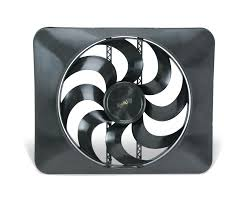 flex a lite electric fan kit flex a lite automotive 15 inch black magic xtreme s blade reversible