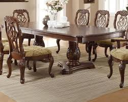 traditional dining room sets coaster traditional dining table marisol co 103441
