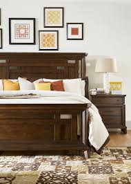 Broyhill Mission Style Bedroom Furniture Broyhill Furniture Estes Park Sliding Door Chest With 7 Drawers