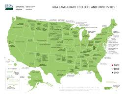 Ohio University Map by List Of Land Grant Universities Wikipedia