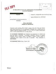scad student wins license suspension hearing jpg