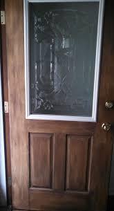 fiberglass front doors with glass how to make your own decorative glass front door hometalk