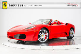 chrome ferrari f430 used 2009 ferrari f430 spider f1 for sale plainview near long