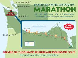 Discovery Park Seattle Map by Travel U2013 North Olympic Discovery Marathon