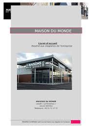 siege social maison du monde telephone maison du monde gift idea pralines gift box with