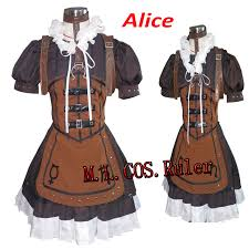 Alice Madness Returns Halloween Costume Buy Wholesale Steampunk Halloween Costumes China