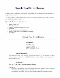 Resume Samples Virginia Tech by Restaurant Server Resume Examples Resume For Your Job Application