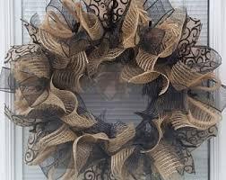 mesh wreaths deco mesh wreaths etsy
